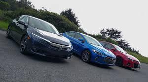 Rivals: Honda Civic vs. Hyundai Elantra vs. Toyota Corolla - Roadshow