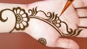Simple And Easy Henna Designs For Hands Mehndi Designs Shaded Easy Mehndi Designs For Hands Simple Arabic Mehendi Designs 2019
