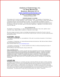 Cosmetologist Resume Template New Cosmetology Resume Templates Mhidglobalorg