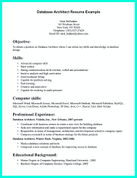 Architect Resume In The Data One Must Describe Professional Resumes