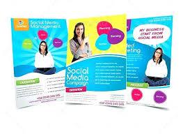 Marketing Brochure Template – Livingaudio
