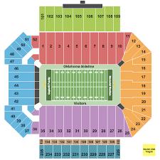 Memorial Stadium Oklahoma Seating Chart Norman