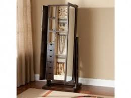 mirror armoire. worthington antique walnut standing mirror jewelry armoire reviews . a