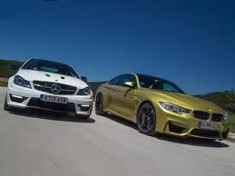 Comparison: new BMW M4 vs Mercedes-Benz C63 AMG - Bimmerfest - BMW ...