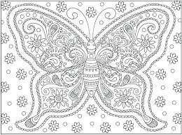 Butterfly Coloring Pages For Kids Pretty Pictures Home Improvement
