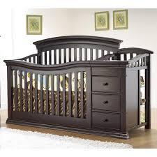 cherry wood crib baby cribs s dark cherry wood crib convertible crib with changing table