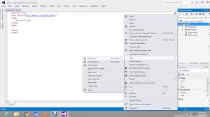 How to link External Style Sheet with HTML page in visual studio ...