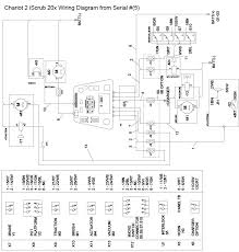 wiring diagram from serial part