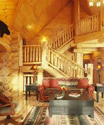 Highlands Log Structures Log Homes Interior Gallery - Log home pictures interior