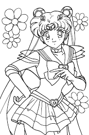 Small Picture silvermoon424 Single User Dash LineArt Sailor Moon Pinterest