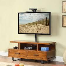 Unique Tv Stands Furniture Accessories Tv Stand With Book Storage Design Best Tv