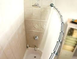 curved shower bar the arc shower rod curved shower curtain rod also shower rod mount also