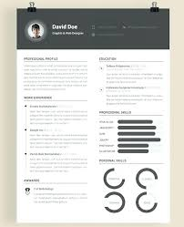Resume Modern Temp Modern Resume Format Template Word Templates Download Free Creative