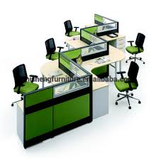 person office desk. Perabot Kantor 5 Orang Meja Partisi Bilik Workstation Modular Person Office Desk D
