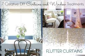 7 Creative DIY Curtains and Window Treatments