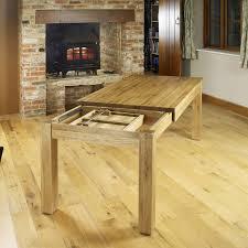 baumhaus mobel solid oak extending dining table 4 8 seater cor04e 699 3 6701 3 of 12 baumhaus mobel solid oak 3