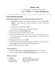 Cover Letter Ssis Sample Resume Informatica With Ssis Sample