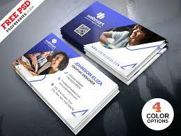 Modern Business Card Design Templates Psd By Psd Freebies Dribbble