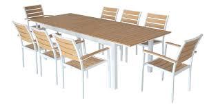 Table De Jardin Aluminium Salon Capua En 150cm 6 Fauteuils