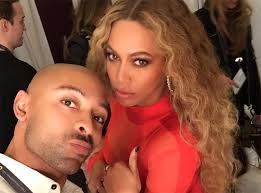 sir john with beyonce supplied