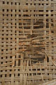 Rattan Material damaged, stock photo