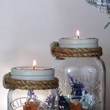 Decorating Jam Jars For Candles Decorative Jam Jar Vase And Candle Holder By Unique's Co 48
