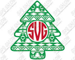 Check out our christmas shirt svg selection for the very best in unique or custom, handmade pieces from our digital shops. Christmas Monogram Svg Cut File Set For Custom Christmas Clothing