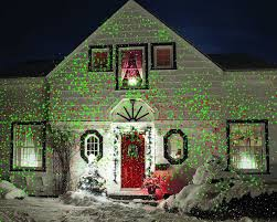 easy outside christmas lighting ideas. Christmas Lights Red Green Star Shower Projector Outdoor Laser Easy Safe Decor #StarShower Outside Lighting Ideas