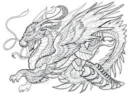 Dragon Coloring Sheet Showideeinfo
