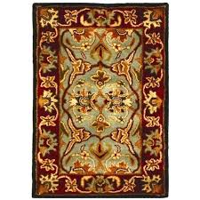 red kitchen area rugs heritage accent rug in light blue 2 l round red accent rug