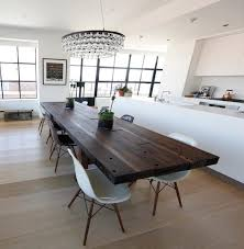 dark table light chairs images on dining rooms rhcom with kitchen contemporary solid wood rhrtscriptcom