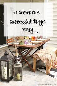 want to know my 1 secret to a successful dinner party hint it