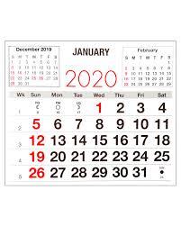 Image Of 2020 Calendar Scrapbook Studio 2020 Calendar