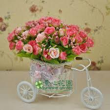 Beautiful Artificial Silk Flowers Arrangements For Home Decoration Artificial Flower Decoration For Home