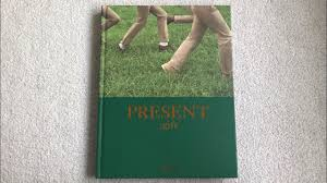 unboxing exo 엑소 photobook present gift