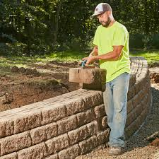 build a long lasting retaining wall