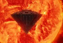 Күндүн орбитасынан Жерден 25 эсе чоң  НЛО байкалган