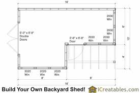 shed floor plans. 10x8-6x8 Garden Shed Plans Floor Plan O