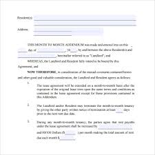 8 Month To Month Lease Agreement Templates – Samples , Examples ...