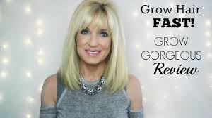 grow hair fast longer thicker fuller hair grow gorgeous review you