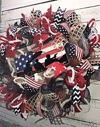 patriotic wreaths for front doorPatriotic Wreath 4th of July Wreath Fourth of July Wreath