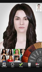 Hairstyle Simulator App celebrity hairstyle salon android apps on google play 4373 by stevesalt.us