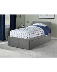 Amazing Deals on Mathias Panel Bed with Storage Size: Twin, Bed ...