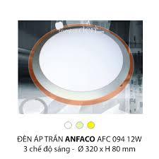Đèn áp trần led 3 chế độ Anfaco AFC 092 12W 3C Anfaco