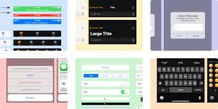 Ios 11 Design Guide Github Brentcas Ios 11 Framer Ios 11 Design System Gui