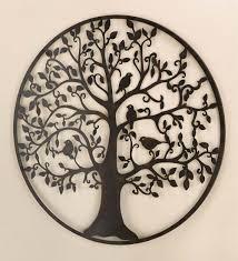 circular handmade cast iron wall art premium wonderful material high quality branch design interior living room painting prints