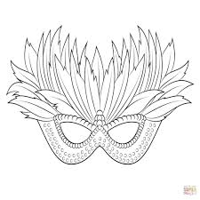 Carnaval Masker Kleurplaat 55 Beste Carnaval Maskers Kleurplaat