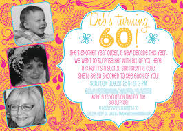 fun 60th birthday party ideas for mom. Surprise 60th Birthday Party Invitations Fun Ideas For Mom