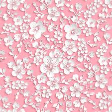 Paper Pattern Custom Beautiful Paper Flower Seamless Pattern Vector 48 Free Download