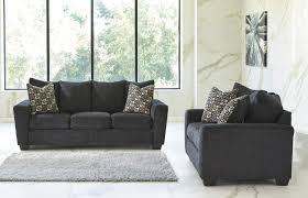 gray living room furniture. Ashley Wixon Slate Living Room Sofa \u0026 Loveseat Set Gray Furniture L